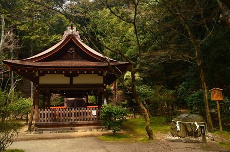 賀茂山口神社と陰陽石