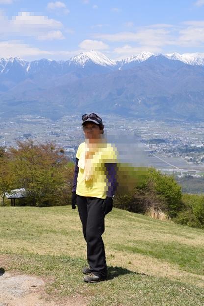 長峰山より