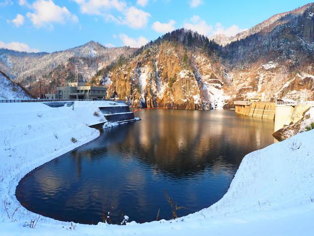 日本札幌豐平峽大壩