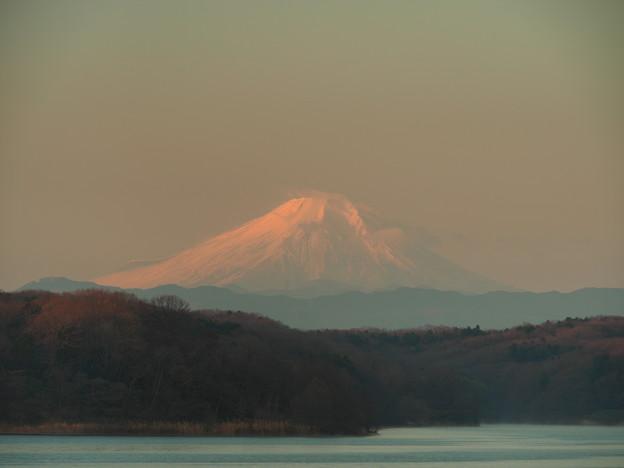 2015,12,27狭山湖の富士山