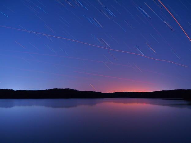 写真: 星降る狭山湖
