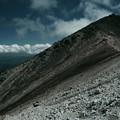 荒涼たる乗鞍岳剣ヶ峰