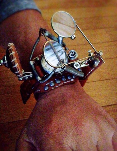 腕時計 スチームパンク Steampunk Watch