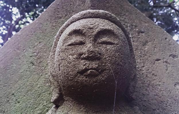 神奈川県厚木市 鐘ケ嶽登山道 菩薩像