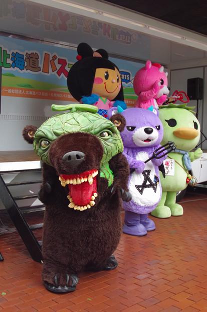 北海道バスフェスティバル2015にて(3)