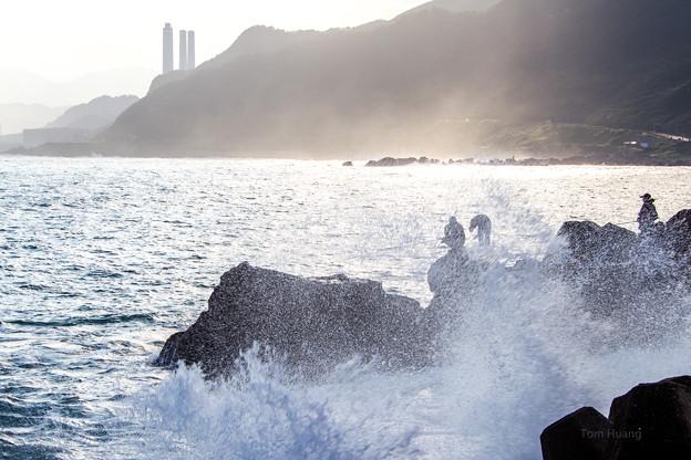 岩釣 surf fishing