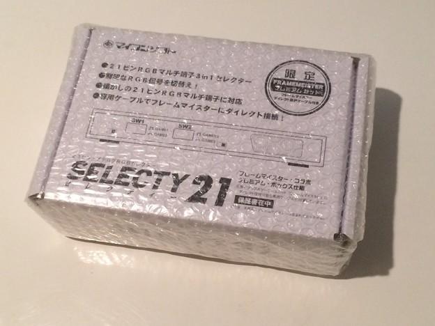 写真: そう言えばセレクティー21再々販限定版到着…セレクターは足りてるんだけど歴史的名機なので未開封保存用に購入…