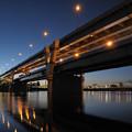Photos: マジックアワーの首都高堀切橋