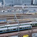 新幹線と山手線と京浜東北線