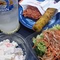 写真: コンビニ惣菜で宅呑みうぇーいヽ(´▽`)ノ