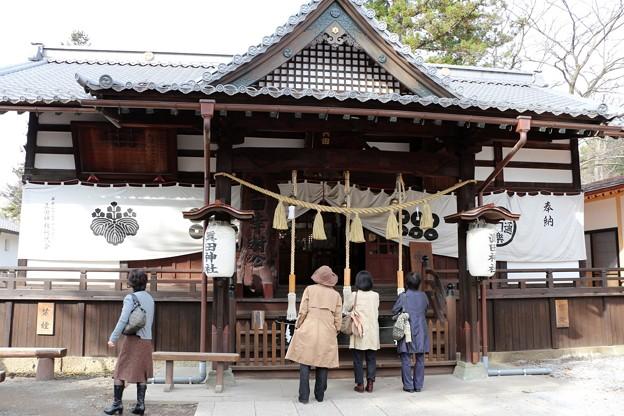 真田神社拝殿
