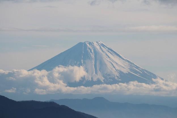 清泉寮からの富士山