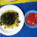 高菜のスパゲッティ・・・