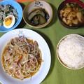 Photos: もやし炒め定食・・・