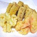 天ぷら3種…