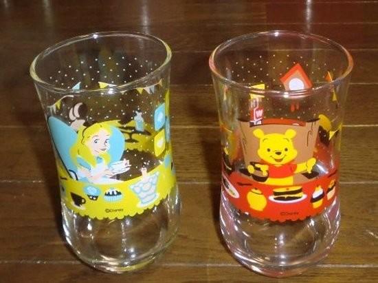 キリンビバレッジオリジナル ディズニーキャラクターグラス