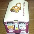 写真: リラックマ×阪急電車 キャラメル缶