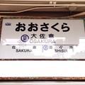 写真: 大佐倉駅 Osakura Sta.