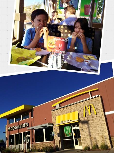 写真: Free Breakfast for Kids day!