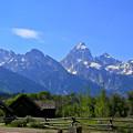 Teton Range & Little Church
