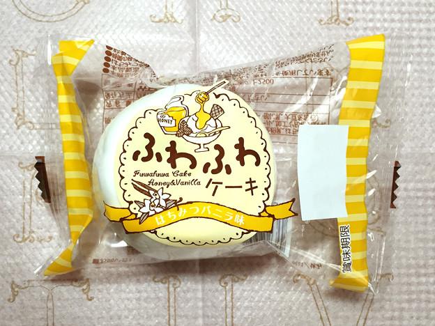 『竹下製菓』の特大マシュマロ「ふわふわケーキ はちみつバニラ味」01