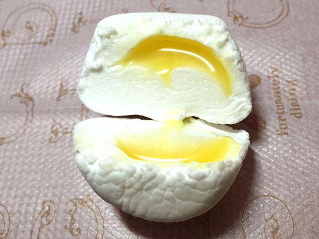 『竹下製菓』の特大マシュマロ「ふわふわケーキ はちみつバニラ味」04