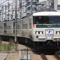 185系チタB6編成 Y151記念列車