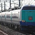 Photos: 485系3000番台ニイR-25編成 特急いなほ7号