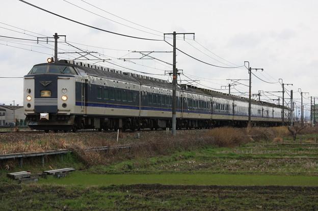 Photos: 583系キトB02編成 金光臨