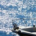 写真: 煌く海