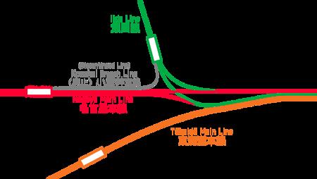 小坂井支線路線図 - ヰキペディア