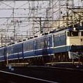品川~尾久回送 EF65-1106+14系x6+24系x1