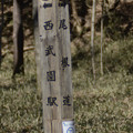 八国山緑地の道標(1)