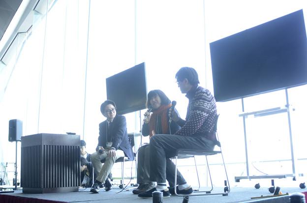 2月28日、「御苗場vol.18横浜」-トークセッション(1)