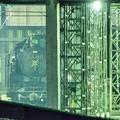 写真: 佇む C11325 会津若松駅扇形庫_2