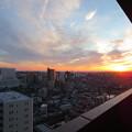 新年2日目の朝日。横浜みなとみらい サンライズ