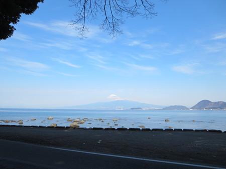 富士を望む