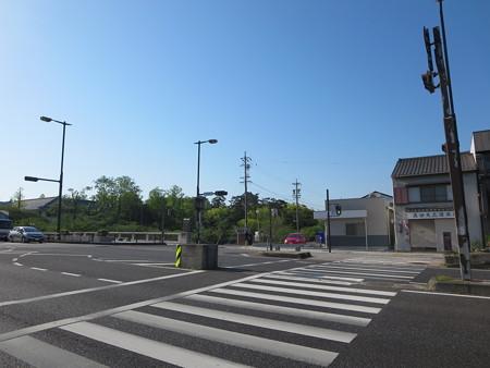 途中、岡崎城前をとおる