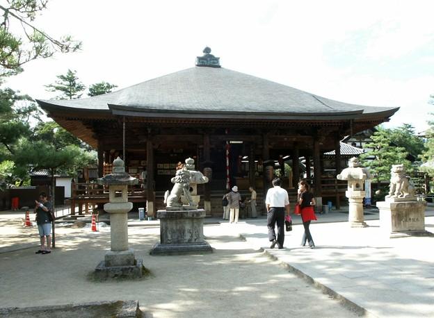 26-京都 天橋立 智恩寺にて-20020830-2