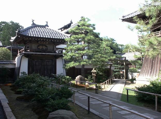 26-京都 天橋立 智恩寺にて-20020830-9
