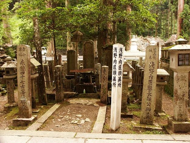 30-和歌山 高野山 浅野内匠頭・四十七士墓-20040712-078