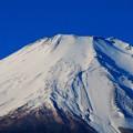 写真: 冬の富士