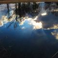 水に映った青空2
