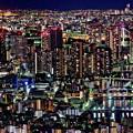写真: 天望デッキの夜(2)