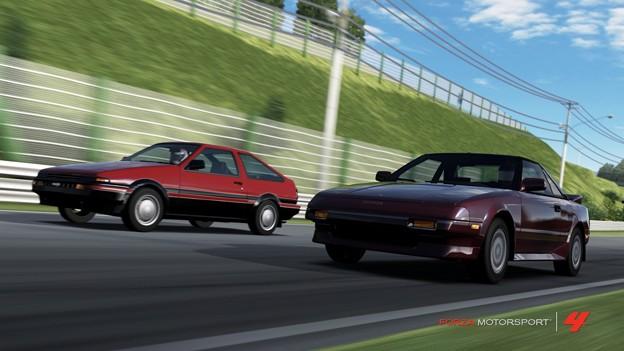 Photos: Toyota 80's sport car
