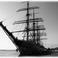 写真: 帆船「海王丸」