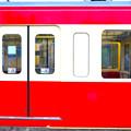西武の赤い電車  (4)