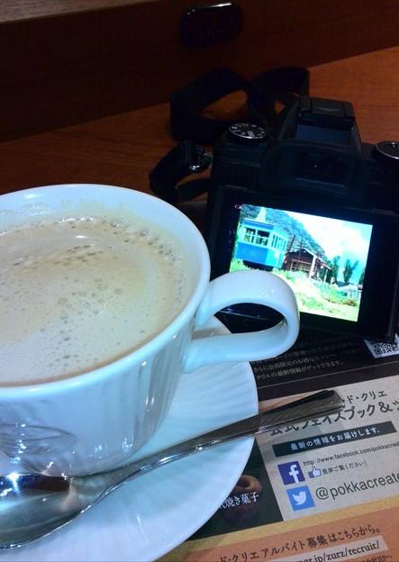 カフェで観賞