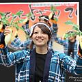 """写真: 東京農業大学YOSAKOIソーラン同好会""""百笑""""_スーパーよさこい2008_02"""