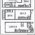 写真: セルテス5 間取図